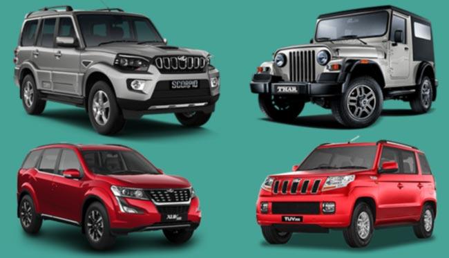 Mahindra cars in Nepal