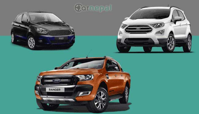 Ford Cars price in Nepal