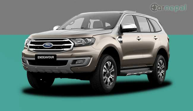 Ford Endeavour price in Nepal
