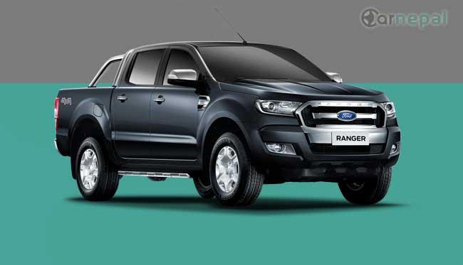 Ford Ranger price in Nepal