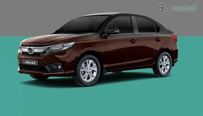 Honda Amaze price in Nepal
