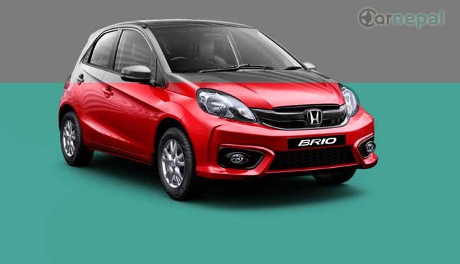Honda Brio price in Nepal