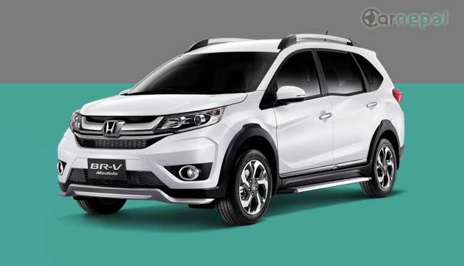 Honda BRV price in Nepal