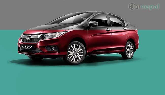 Honda City price in Nepal