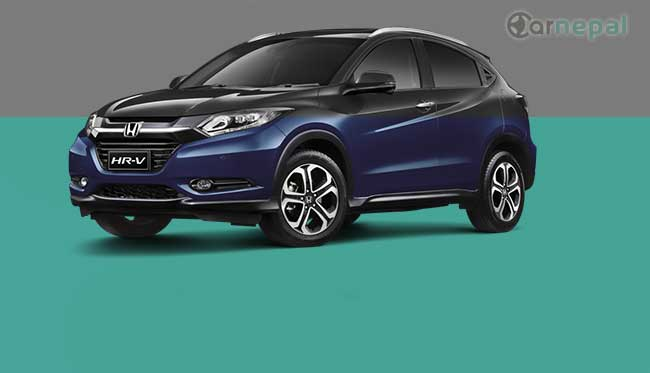 Honda HRV price in Nepal