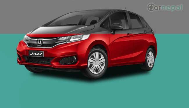 Honda Jazz price in Nepal