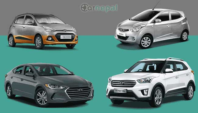 Hyundai Cars price in Nepal