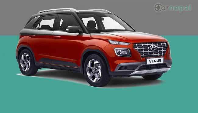 Hyundai Venue price in Nepal