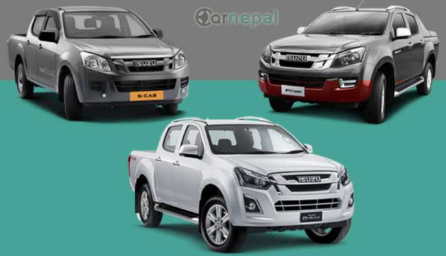 Isuzu pickup price in Nepal