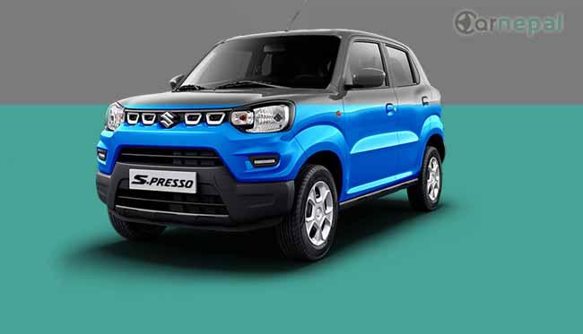 Maruti Suzuki S-Presso price in Nepal