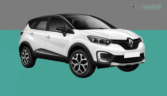 Renault Captur price in Nepal