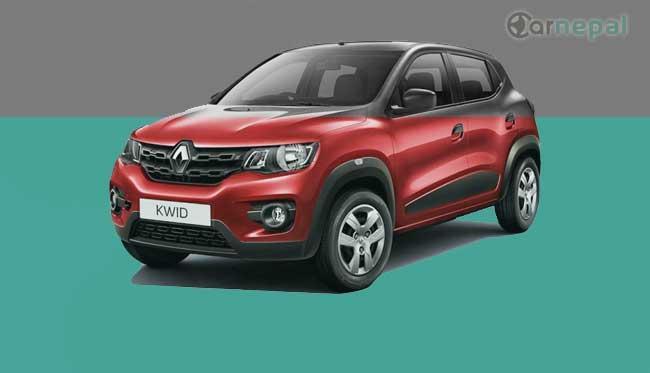 Renault Kwid price in Nepal