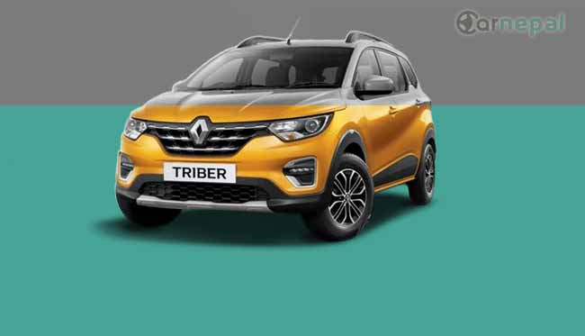Renault Triber price in Nepal