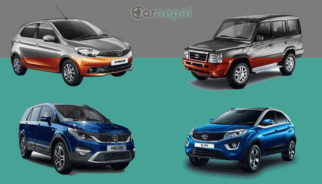 Tata Cars price in Nepal