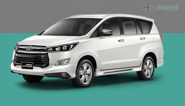 Toyota Innova price in Nepal