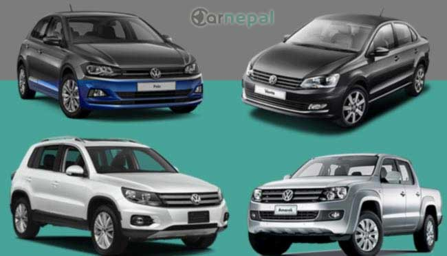 Volkswagen cars price in Nepal